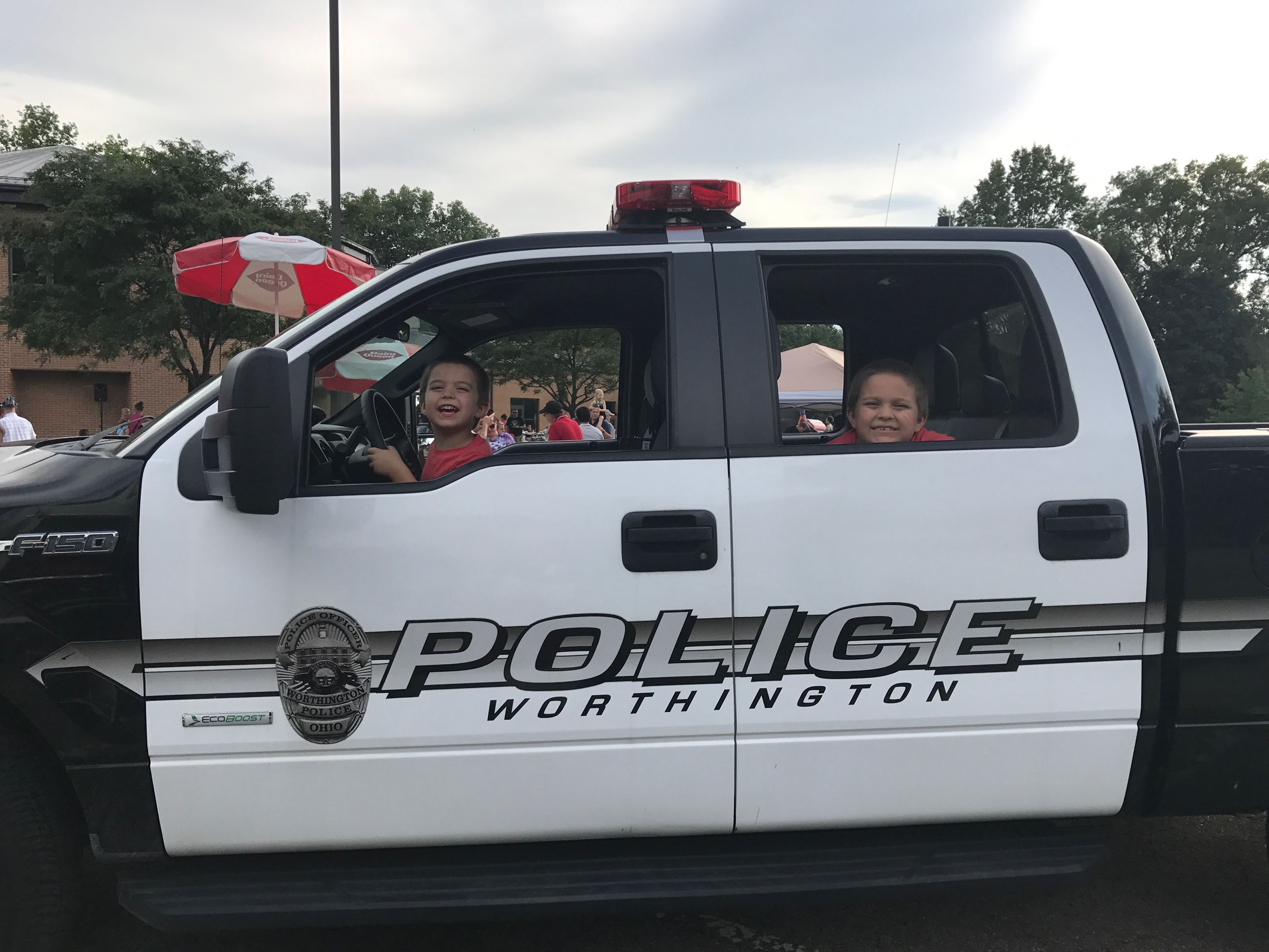 NNO Kids in Truck
