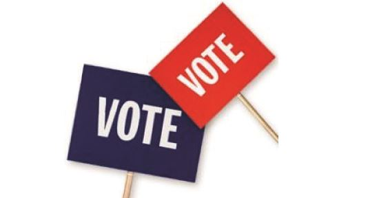 vote signs copy