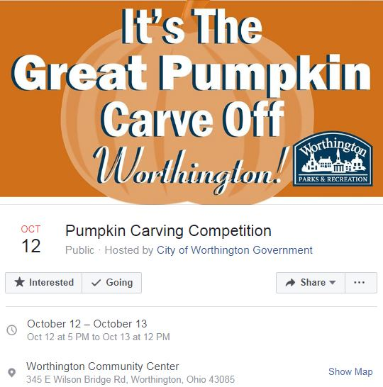 pumpkin facebook event