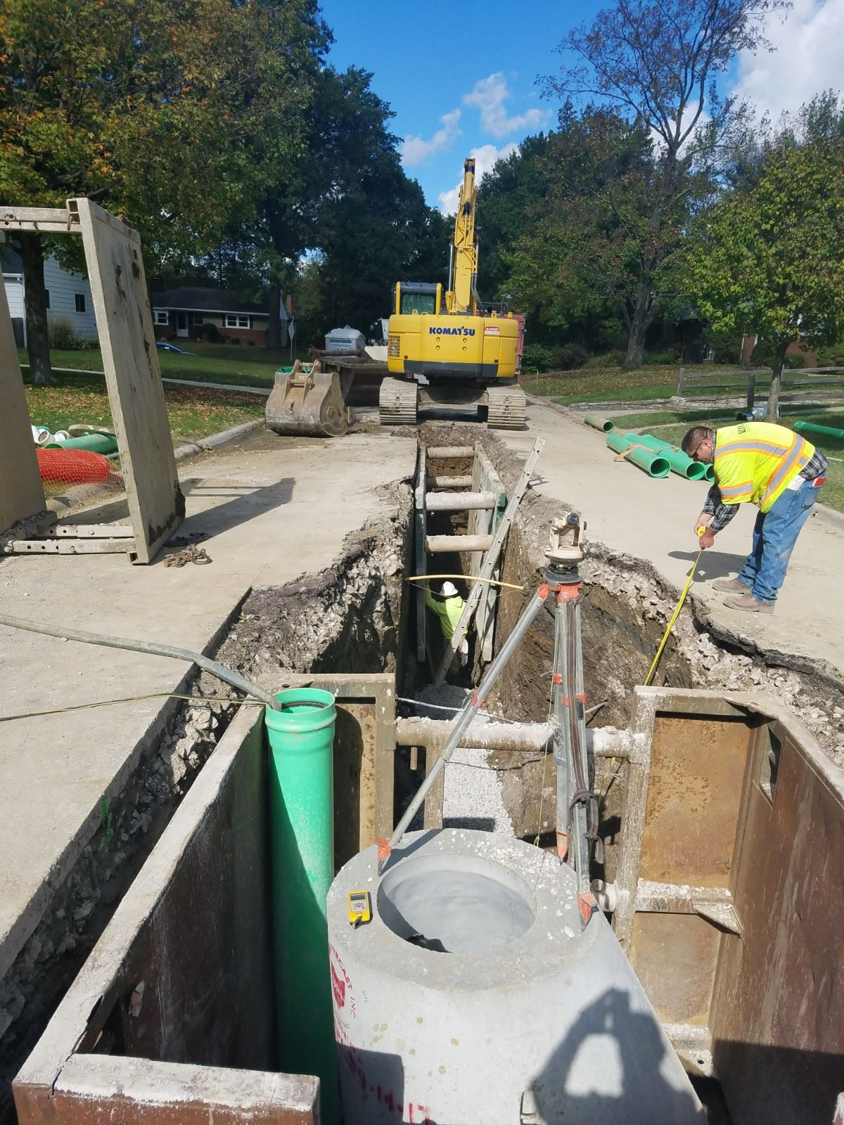 north street sewer replacement 1
