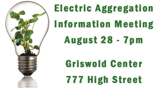 electric aggregation meeting