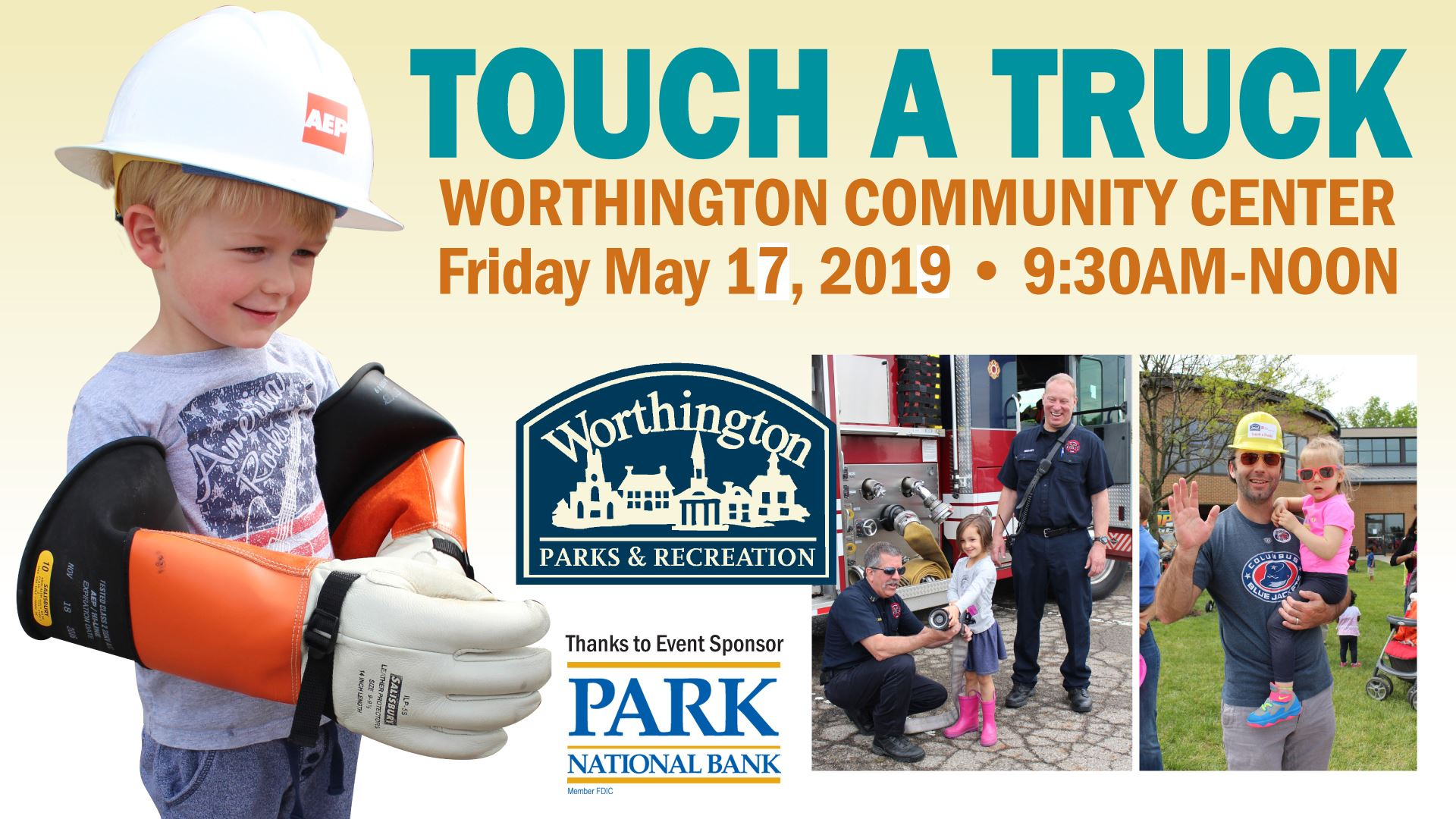 Touch a truck 2019 facebook event
