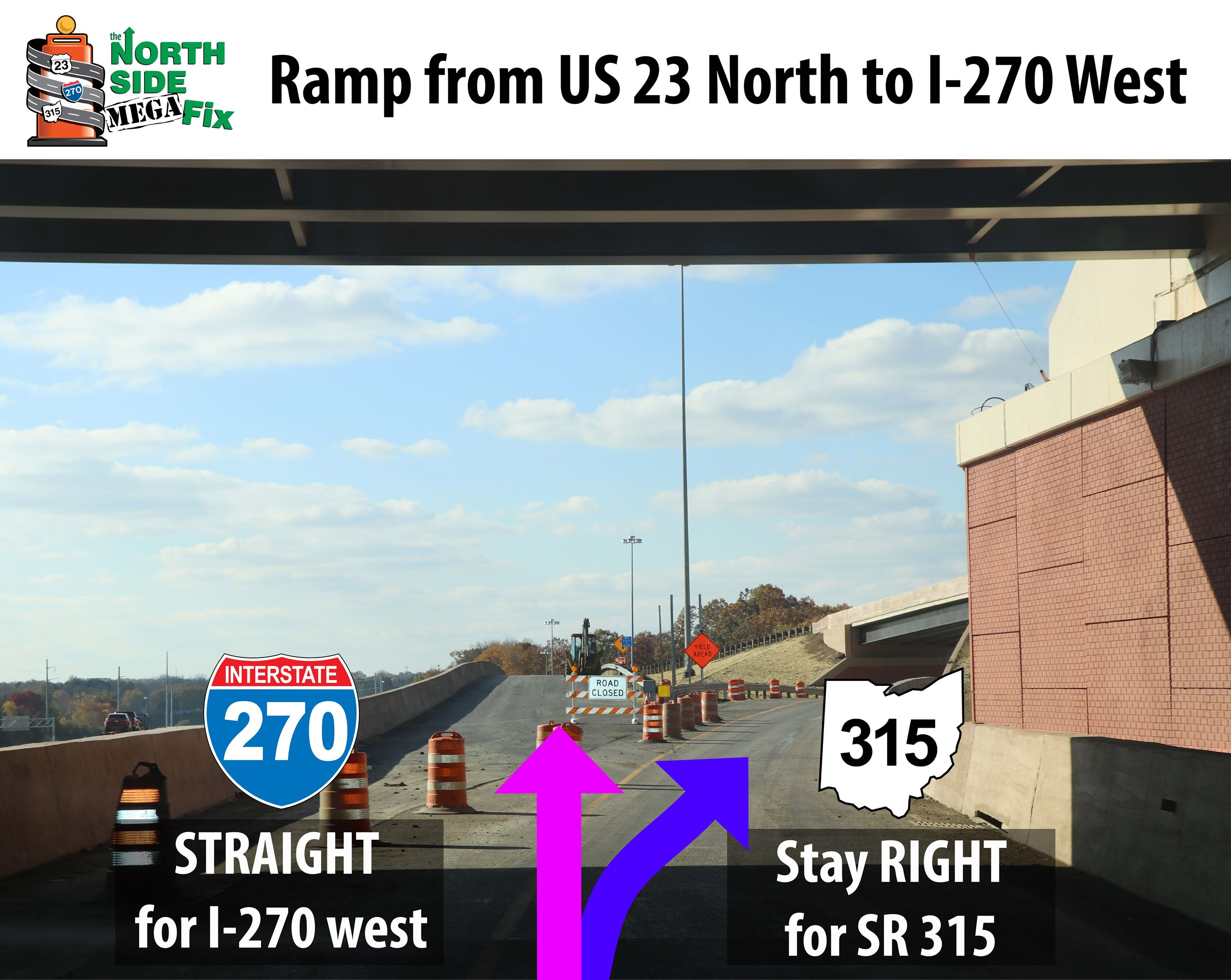 US 23 North Ramp to I-270 West-01