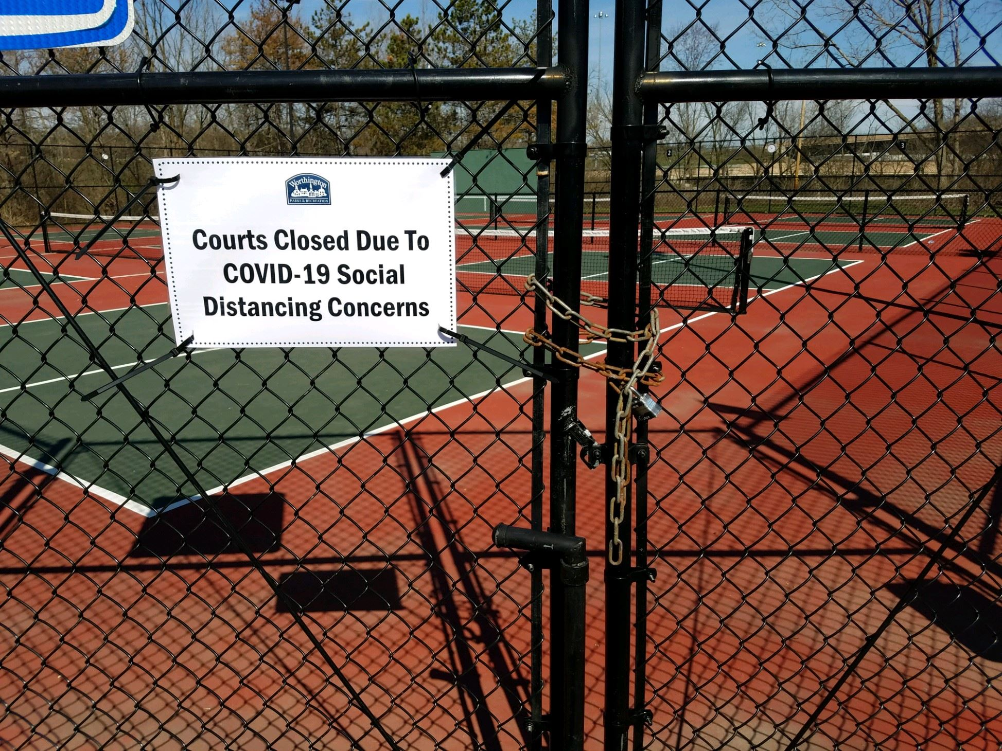 pickleball closed