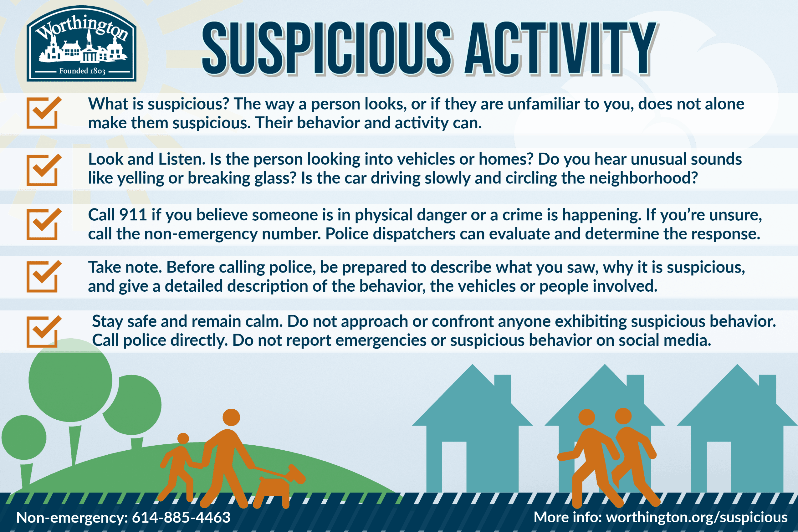 Suspicious Activity web graphic