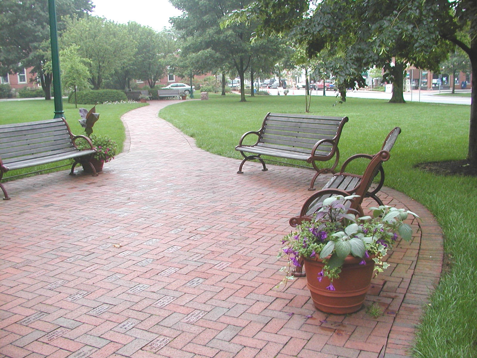 village green benches