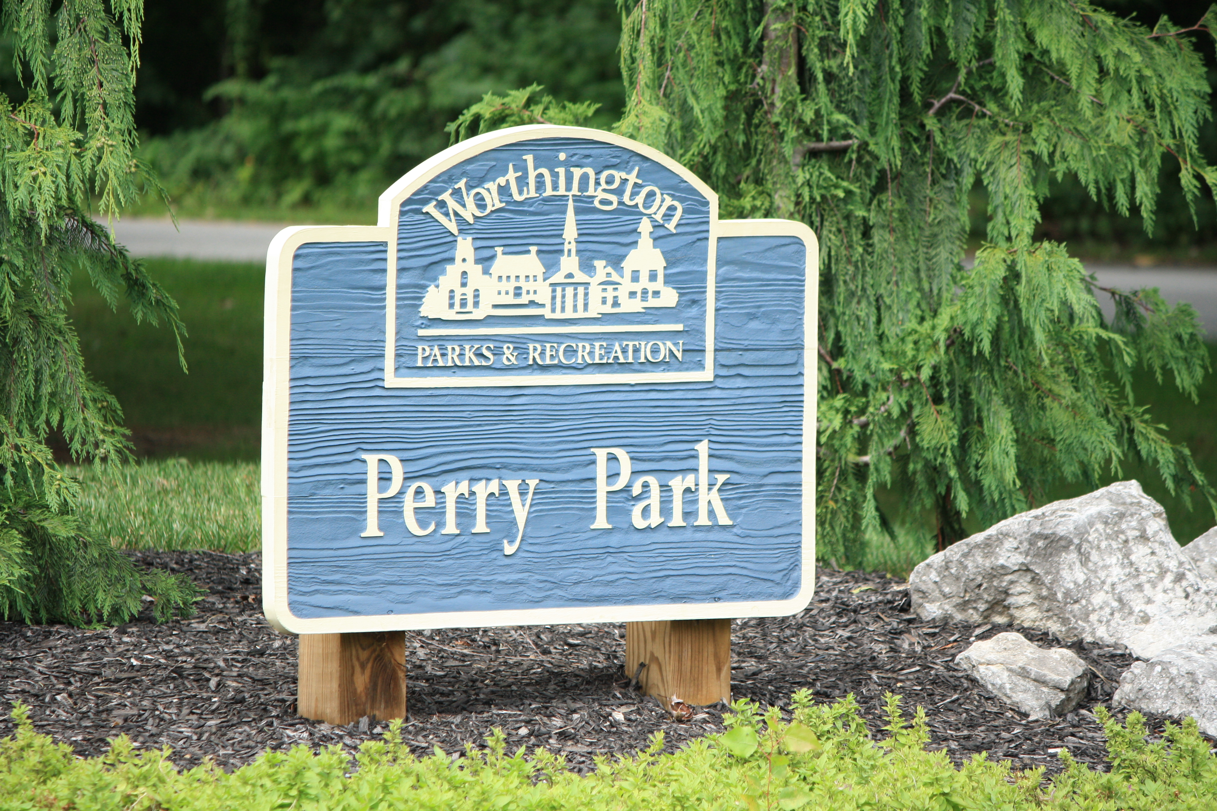 Perry Park Sign