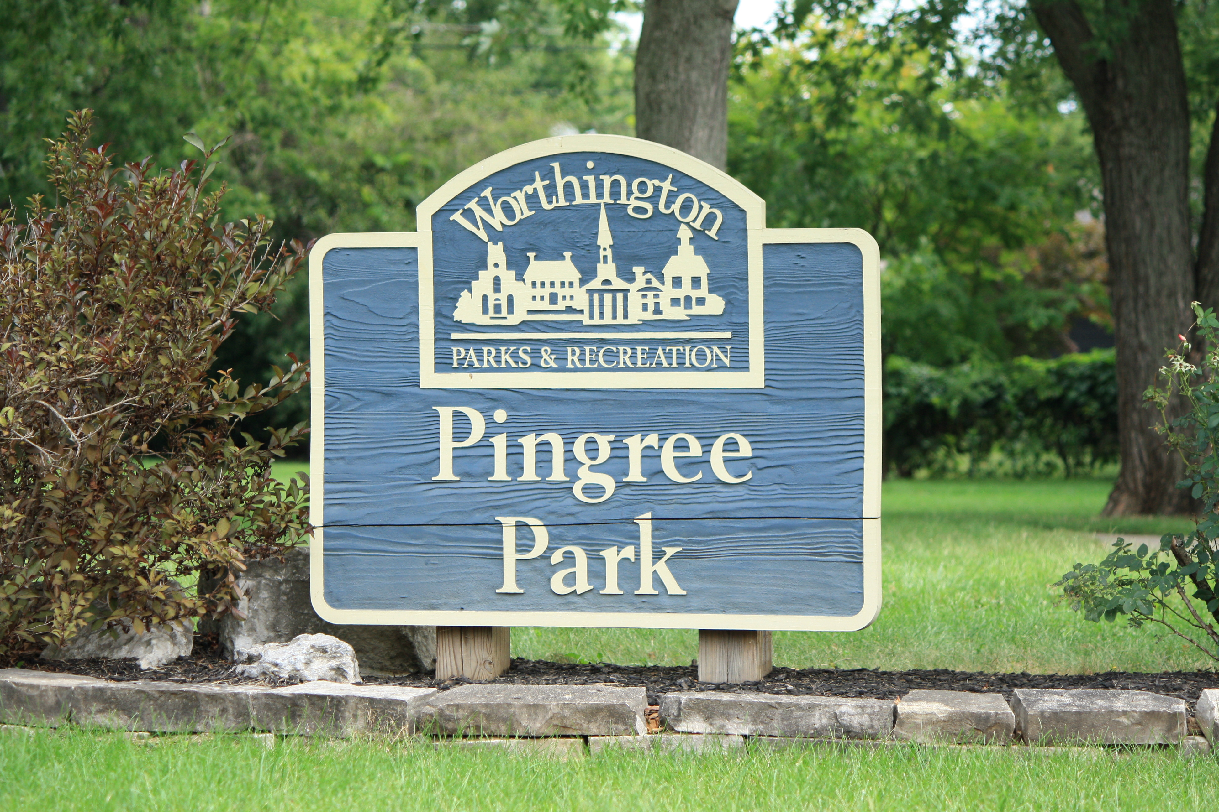 Pingree Park Sign