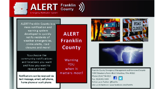 alert franklin county