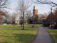 Worthington village green